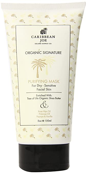 Caribbean Joe Organic Signature Purifying Mask for Dry-Sensitive Skin