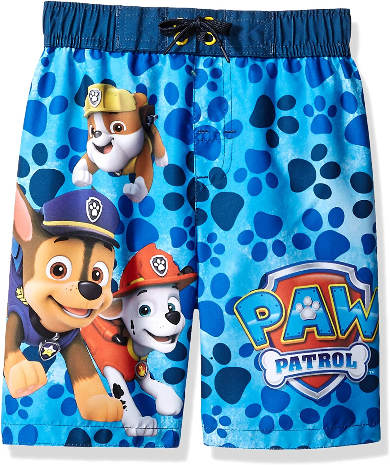 Paw Pa-Trol Boys Swim Trunks Beach Shorts Board Shorts with Pockets for 7-20 Years