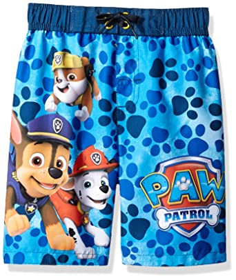 fff94e7c015c9 Amazon.com: Paw Patrol Boys Swim Trunks Swimwear (Little Kid/Big Kid ...