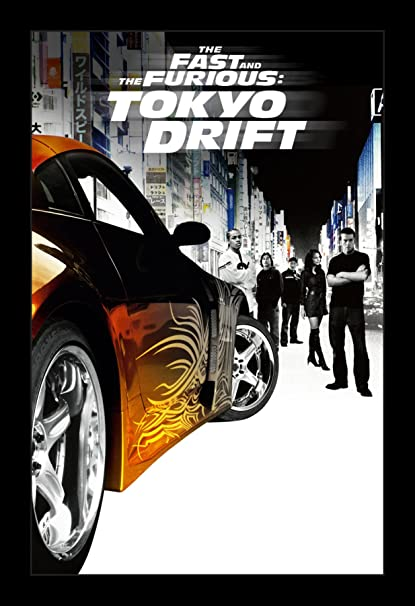 Fast And Furious 3 Full Movie >> Amazon Com Wallspace Fast And Furious Tokyo Drift 11x17