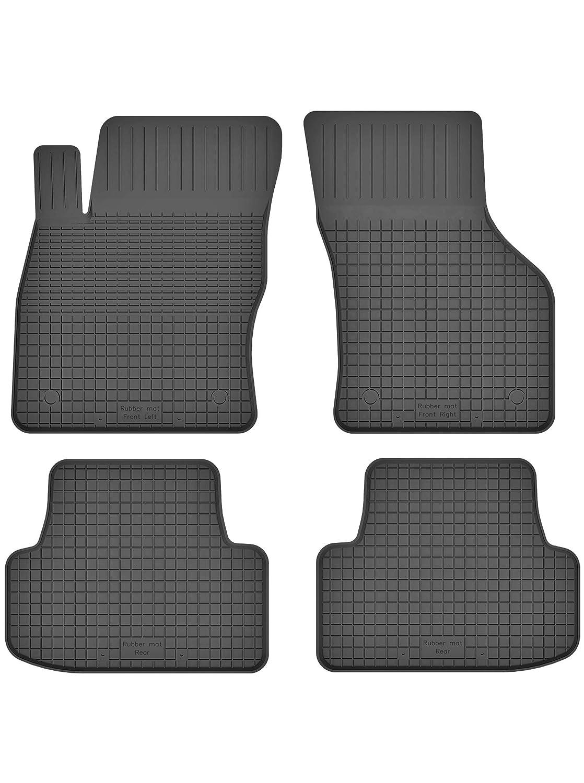 Teile EIN Set ideal angepasst 4 Bj. ab 2017 KO-RUBBERMAT Gummimatten Fu/ßmatten 1.5 cm Rand geeignet zur SEAT Arona