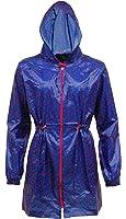 Womens Printed Pac A Mac Rain Coat - Long Kagool