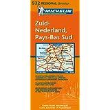 Carte RGIONAL  Pays-Bas Sud / Zuid-Nederland