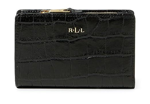 bc17675e05df Image Unavailable. Image not available for. Color  LAUREN RALPH LAUREN  Women s Embossed Newbury Compact Leather Wallet