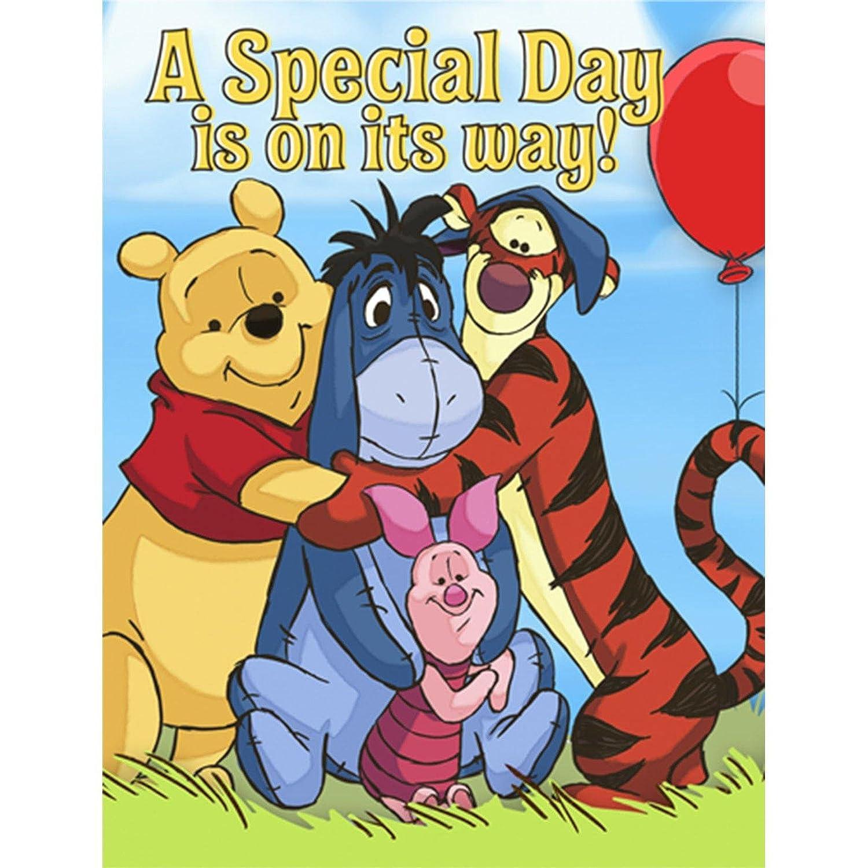 Disney Pooh and Pals Invitations Hallmark 8