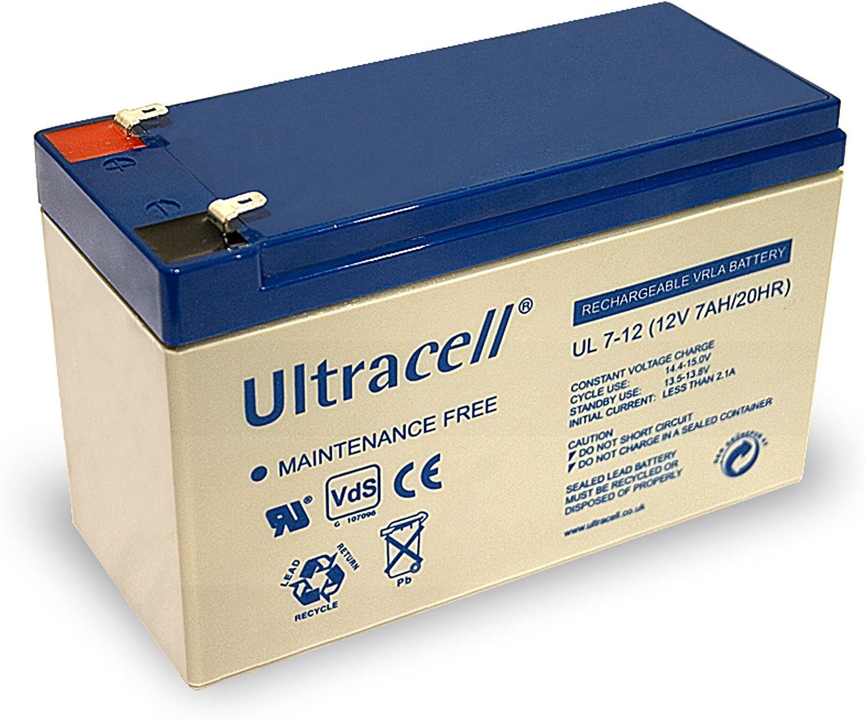 Wentronic 78246 Sealed Lead Acid (VRLA) 7000mAh 12V batería recargable - Batería/Pila recargable (7000 mAh, Sealed Lead Acid (VRLA), 12 V, Blanco)
