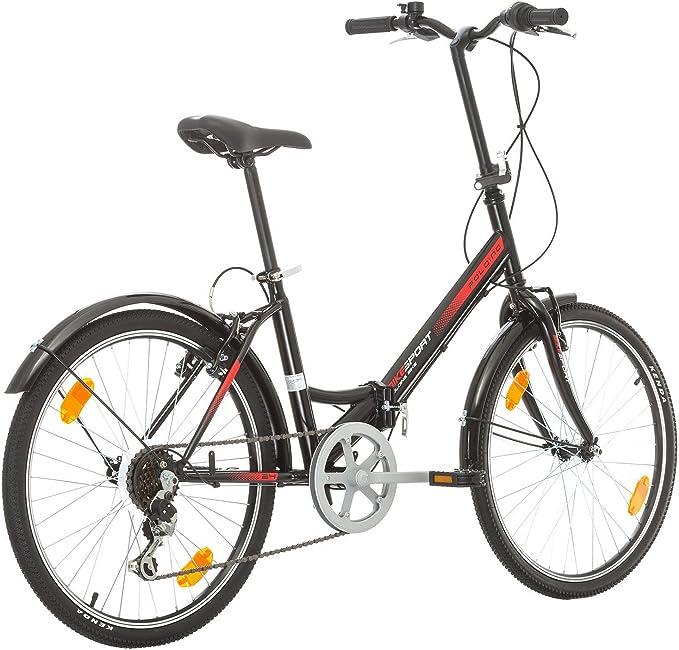 BIKE SPORT LIVE ACTIVE Bikesport Folding Bicicleta Plegable Ruedas de 24