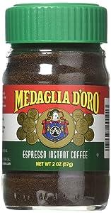 Medaglia D'OroEspresso Instant Coffee, 2 Oz