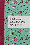 Bíblia Sagrada NVT - Letra Grande. Capa Flores Tiffany