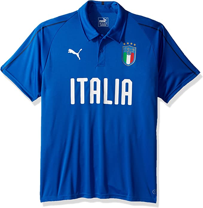 PUMA Mens FIGC Italia Polo