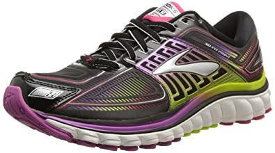 Brooks Women's Glycerin 13 Running Shoe - Black/Hyacinth Violet/Virtual  Pink - 5.5