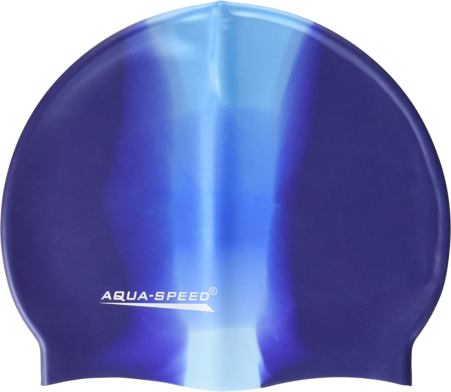 Aqua-Speed Mens Bunt Silicone S Multicolor Swim Cap