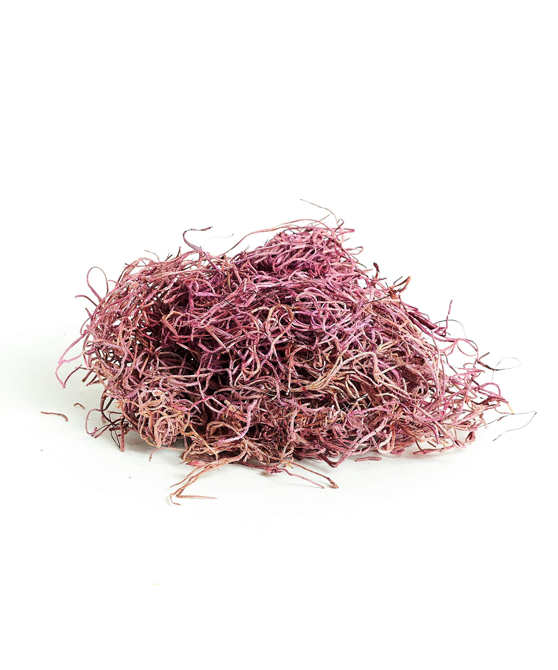 Shop Succulents | Spanish Preserved Moss for for Fairy Gardens, Terrariums, Craft or Floral Projects Weddings, Other Arts, 6 OZ, Dusty Rose