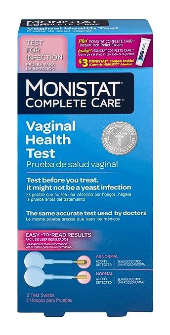Amazon Monistat Care Vaginal Health Test 2 Test Swabs 1 Box