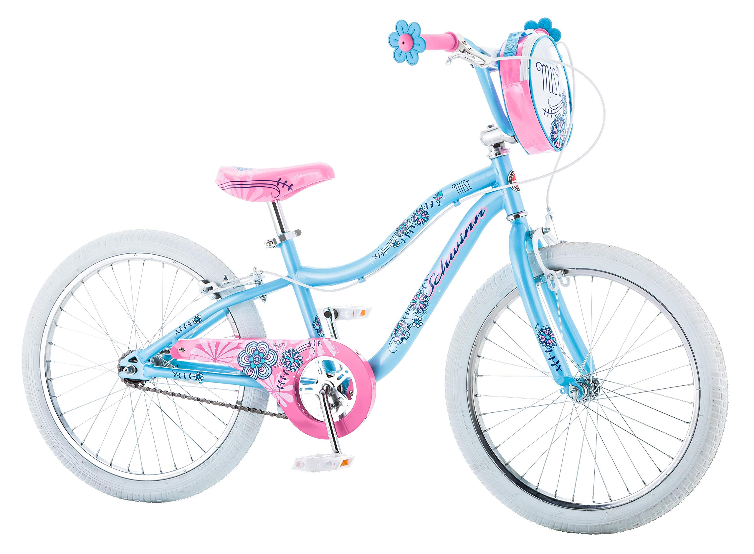 Schwinn Mist Girl's Bicycle, 20'' Wheels, Light Blue