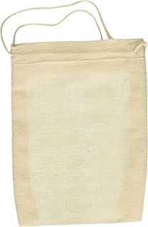 Amazon.com: Cotton Muslin Bags 3x4 Inch Drawstring 25 Count Pack ...