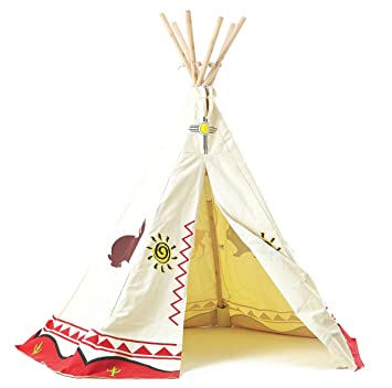 Garden Games ltd Childrenu0027s Wigwam/Teepee Play Tent - Traditional Wild West Cowboys and Indians  sc 1 st  Amazon.com & Amazon.com: Garden Games ltd Childrenu0027s Wigwam/Teepee Play Tent ...