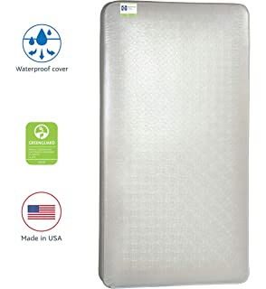 extra-firm, wet-proof and fits both cribs and toddler bed frames Sealy Ultra Rest Crib and Toddler Bed Mattress