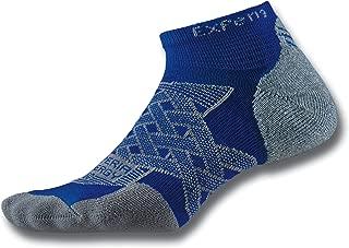 product image for Thorlos Experia Energy XECU Thin Cushion Running Compression Low Cut Socks, Royal, Medium