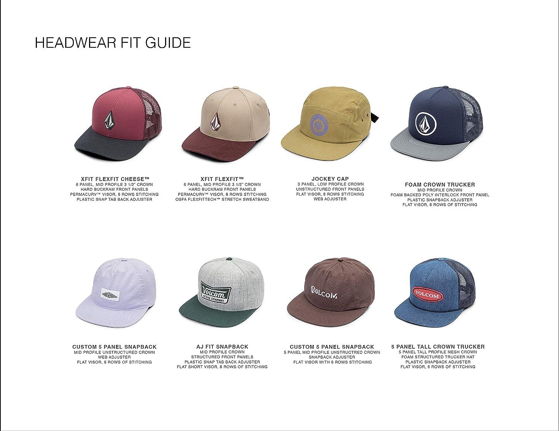 sports shoes 4ea16 fbbaa Amazon.com  Volcom Men s Full Stone Flexfit Stretch Hat  Clothing