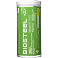Biosteel High Performance Sports Drink Powder, Naturally Sweetened with Stevia, Lemon Lime, 12 To-Go Packets