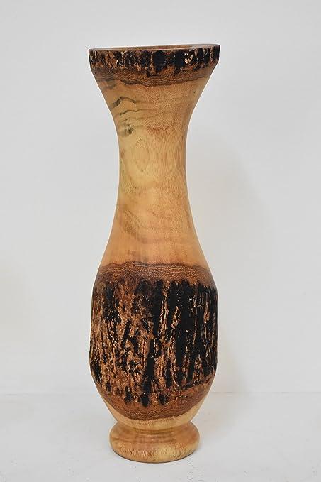 Amazon Quality From Factory Size 4x14mango Wood Vases