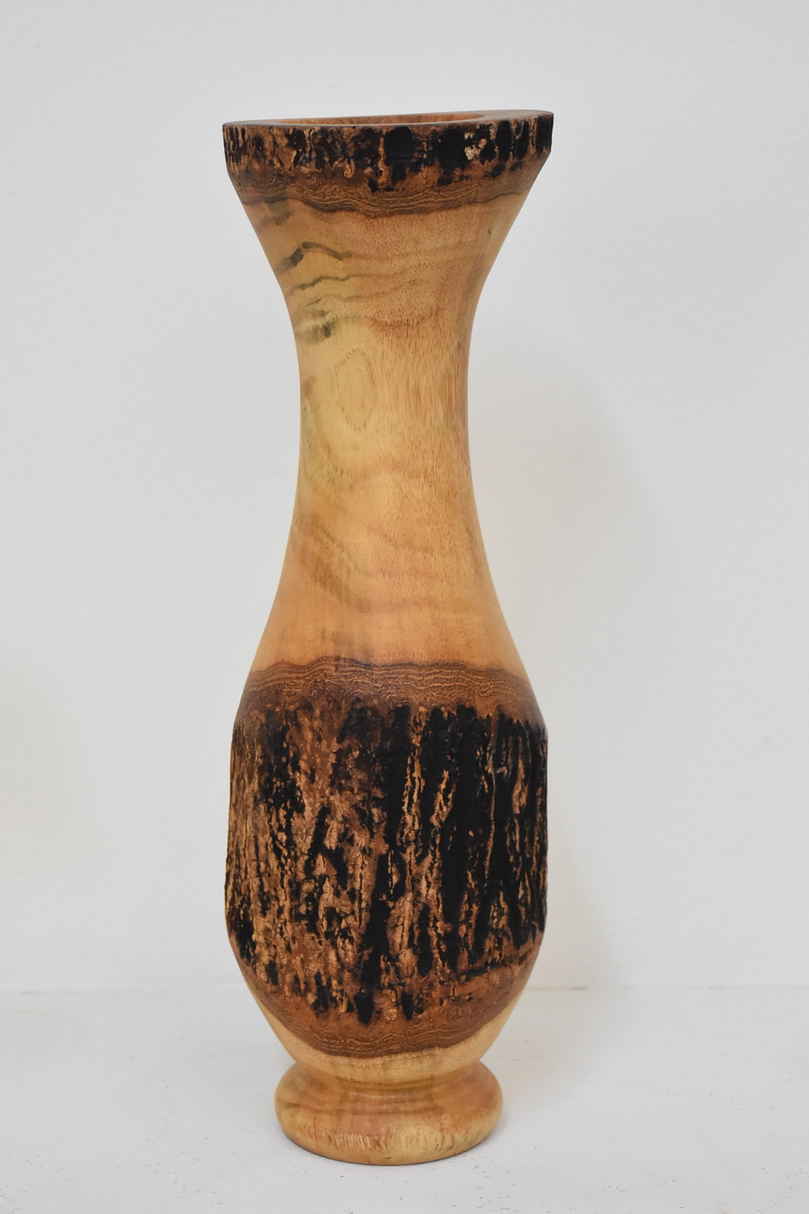 Quality From Factory Size (4''x14''')mango wood Vases Handmade Home