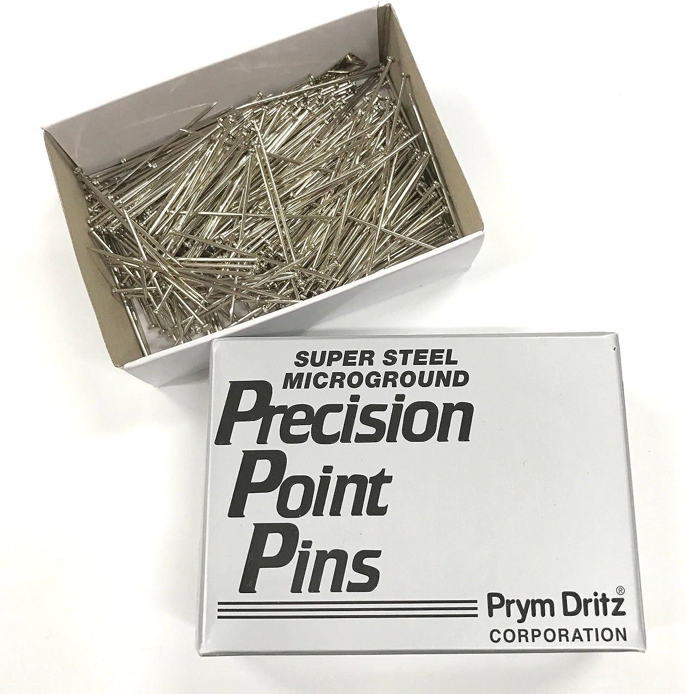 - 1//2 Lb Steel Bank Pins #24 1-1//2 Box Heavy Duty Straight Pins