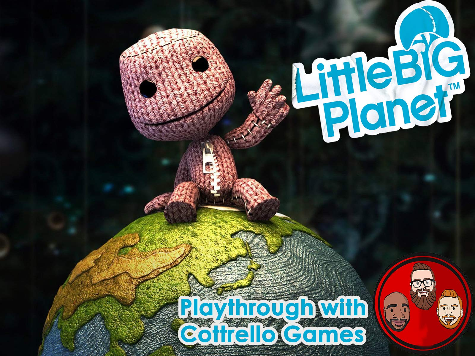 LittleBigPlanet Multiplayer Playthrough with Cottrello Games
