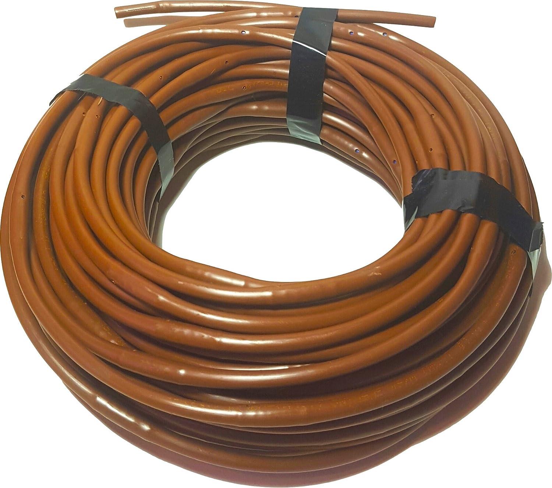 "Rain Bird ET25-50S2 Drip Irrigation 1//4/"" Emitter Tubing 50/' Roll, 12/"" Spacing"