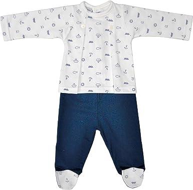 BABIDU 56235 Conjunto 2P Polaina Pijama, Azul (Marino 001 ...