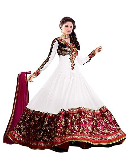Florence Women's Georgette Salwar Suit Dupatta Material (SB-2512)