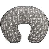 Org Store Premium Nursing Pillow Cover | Slipcover for Breastfeeding Pillows (Gray w/ White Arrows)