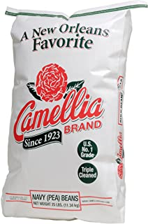 product image for Camellia Brand Navy (Pea) Beans Dry Beans, 25 Pound Bag
