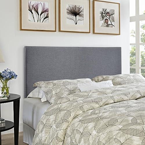 Modway Region Linen Fabric Upholstered Queen Headboard