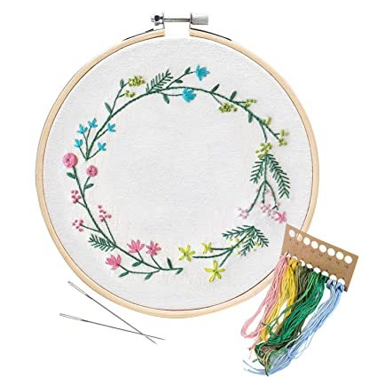Amazon Unime Garland Embroidery Patterns Counted Cross Stitch