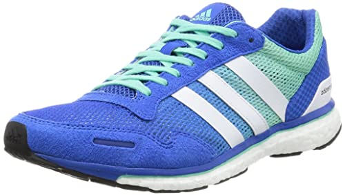 various colors e00b6 20536 adidas Mens Adizero Adios 3 Running Shoes, (BlueFTWR WhiteEasy Green