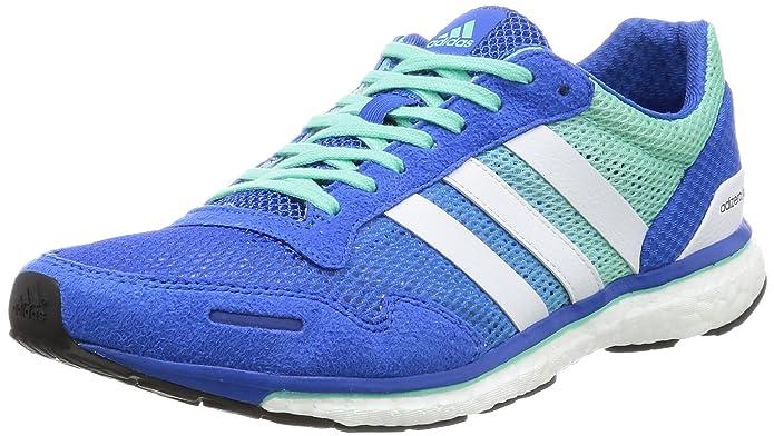 SS17 Mens Adizero Adios Running Shoes - Blue - Speed