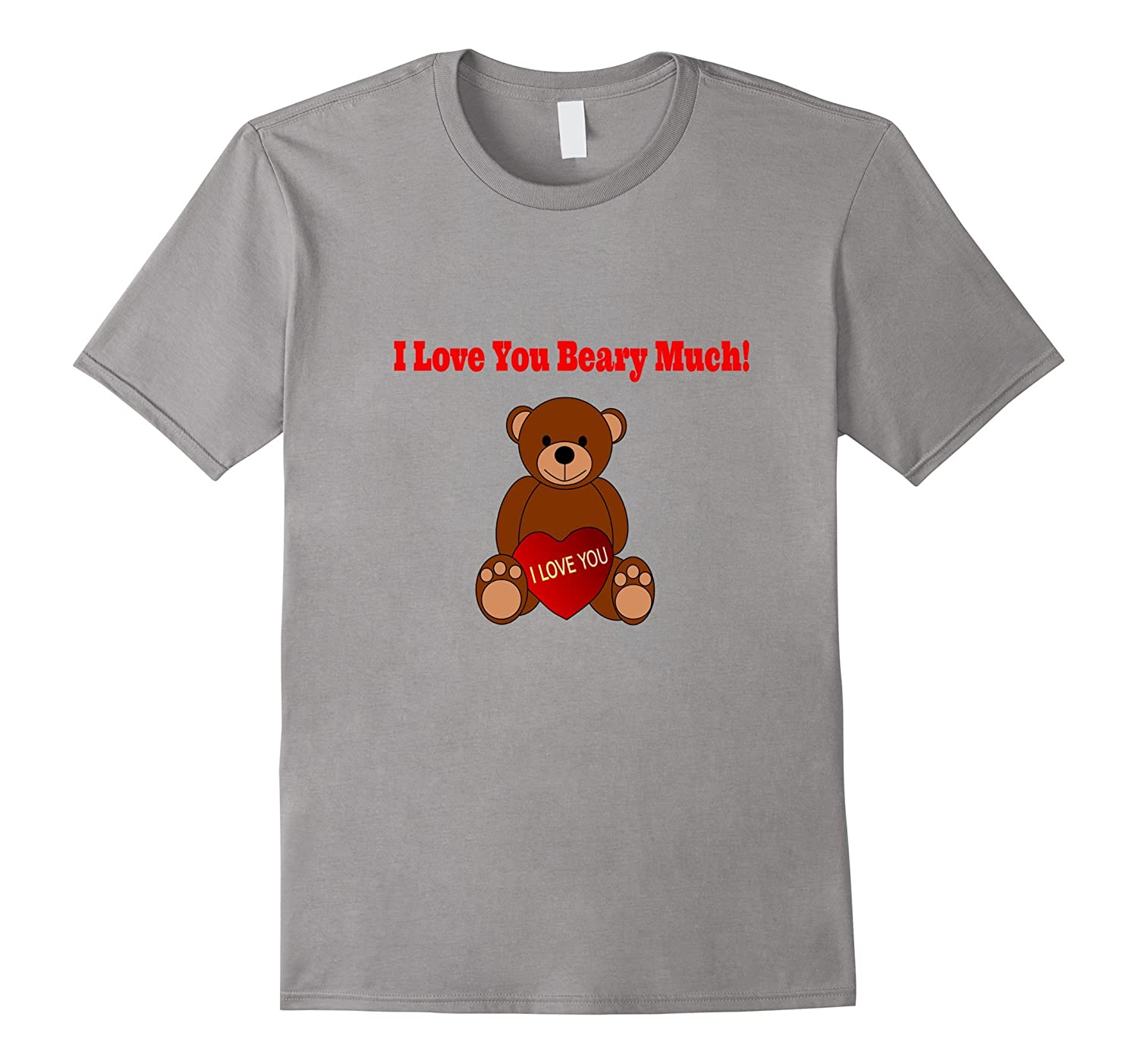 Valentines Day Heart Bear Shirt for Kids, Her, Wife-CL