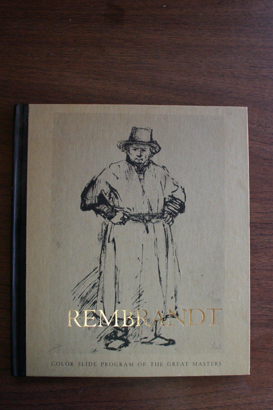 rembrandt color slide program of the great masters