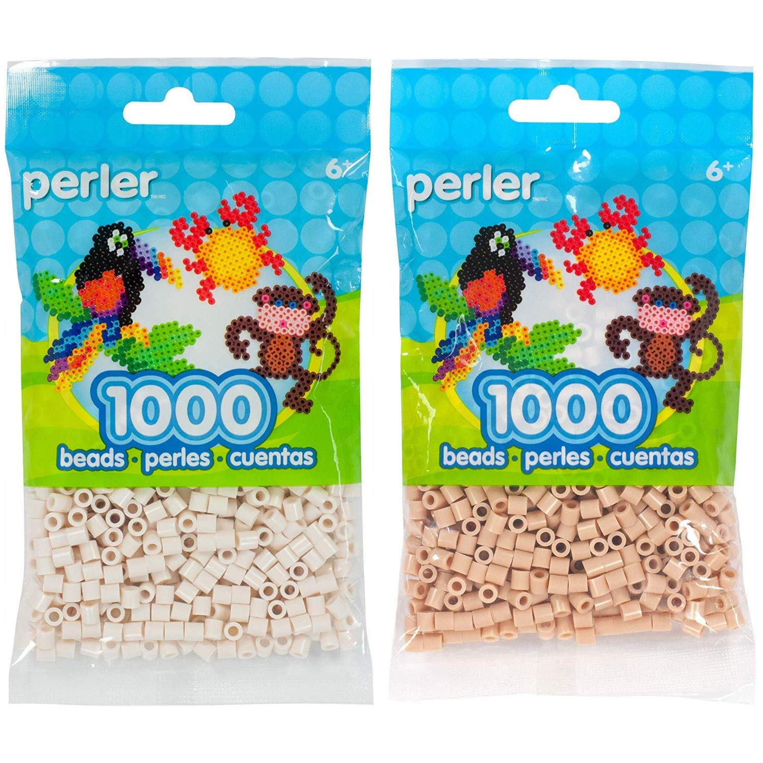 Canutillos beads 2000 unidades (pack x2) Toasted/Fawn