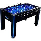 Atomic Azure LED Light Up Foosball Table