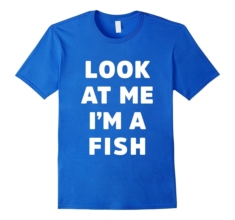 Fish Costume Shirt For Halloween Men Women Boys Girls Fl