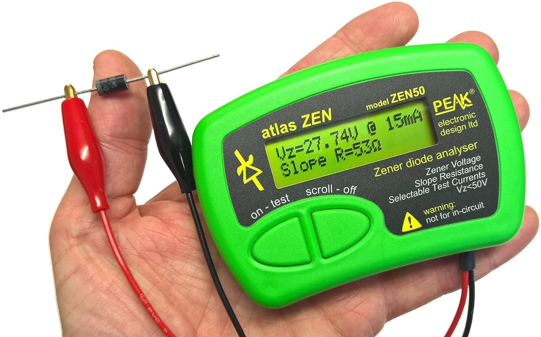 0/Gleichspannungswandler Peak Electronic Design 0700153222891/Zener-Diode Analyser