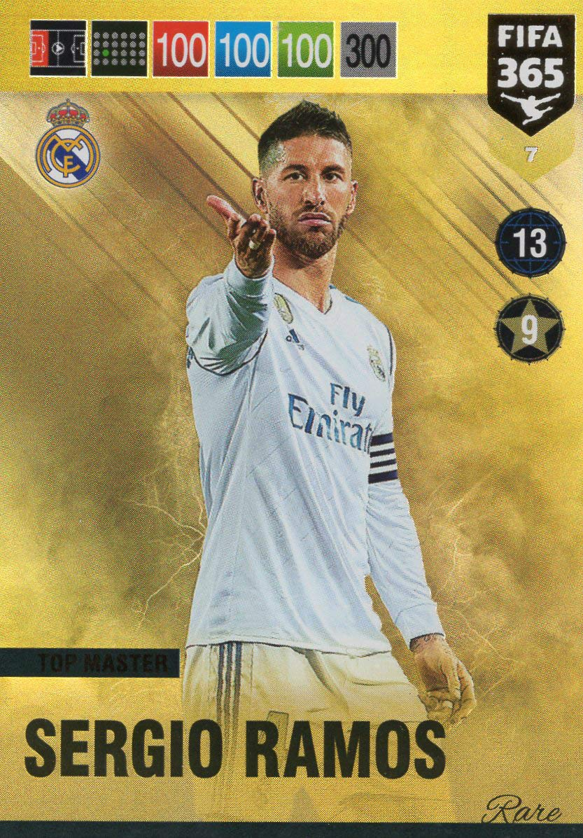 Lionel Messi Top Master Seltene Karte 6 Nr PANINI ADRENALYN XL FIFA 365 2019
