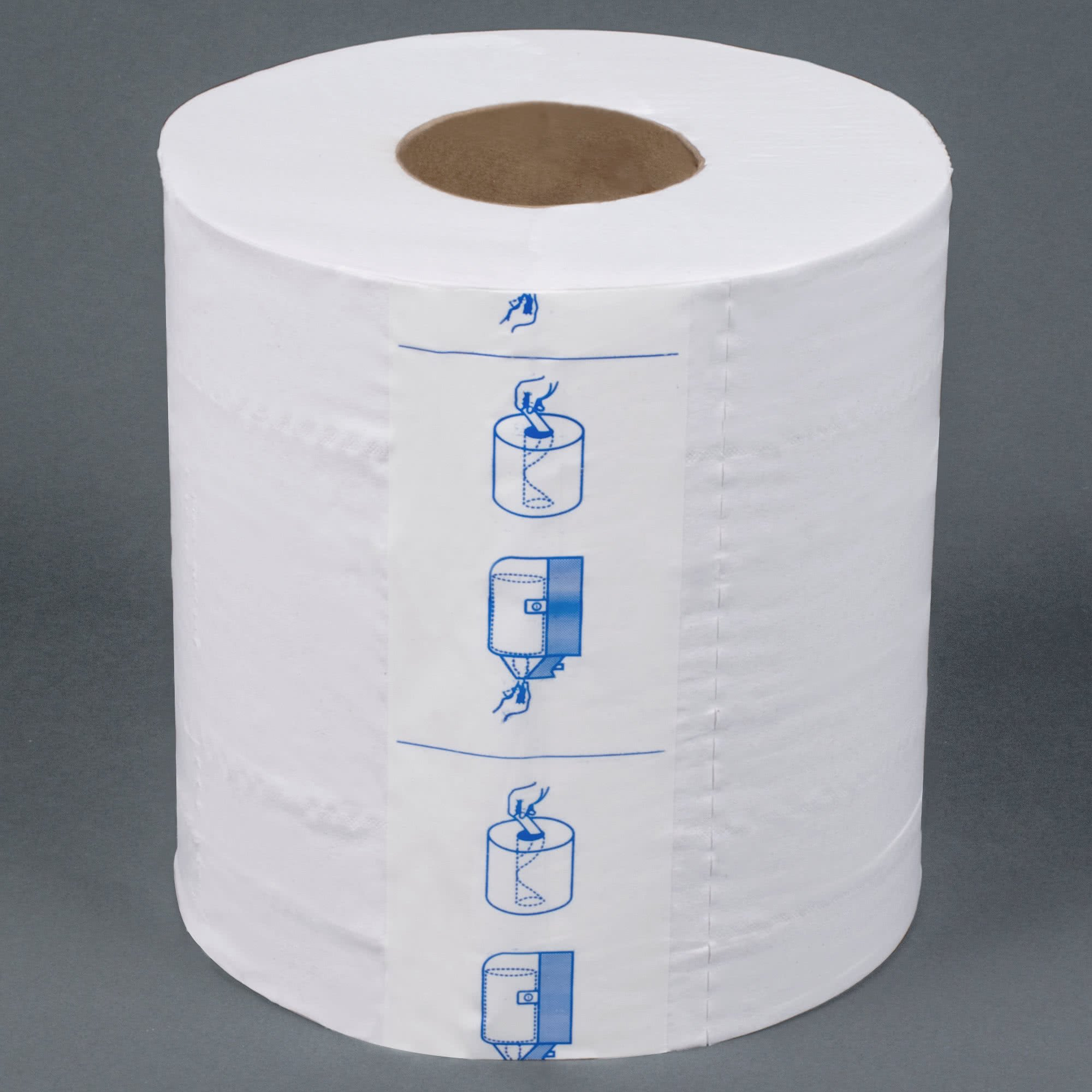 TableTop King 725 2-Ply Center Pull Paper Towel 600' Roll - 6/Case