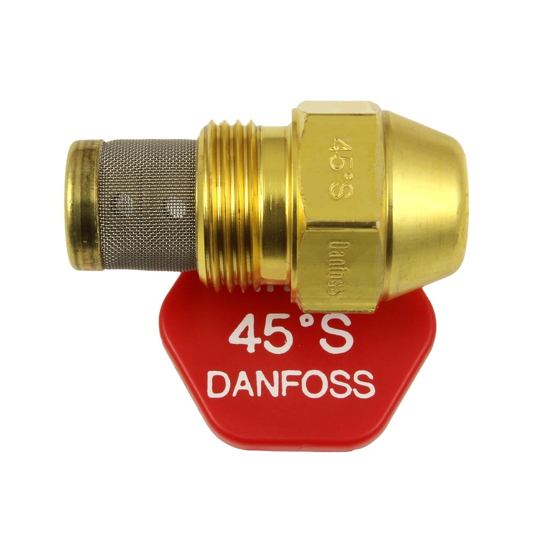 Danfoss 030F4132 Gicleur à fioul cône plein, angle 45°, 2,00 USgal/h 6,30 kg/h angle 45°