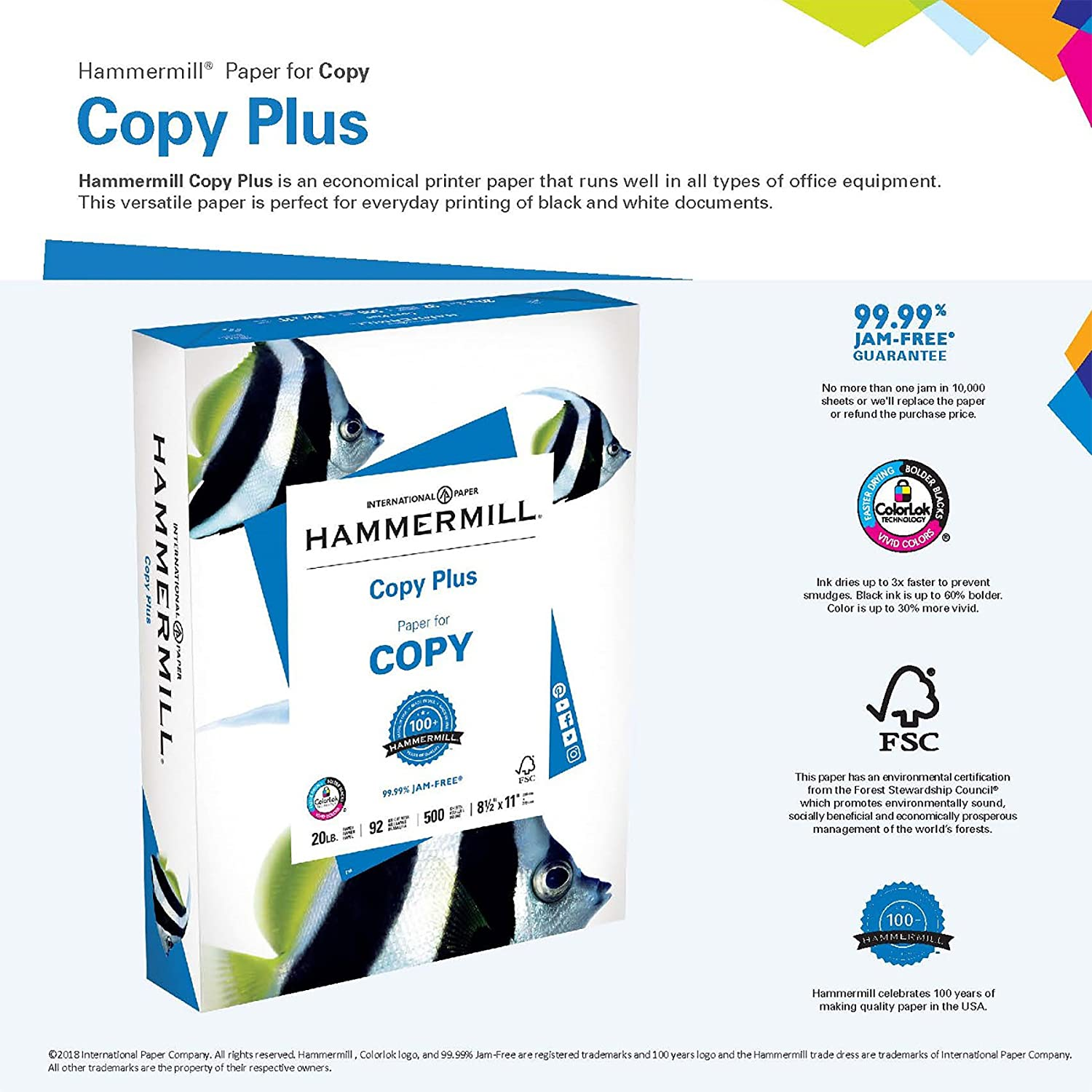 Amazon Hammermill Paper Copy Plus Paper 11 X 17 Paper