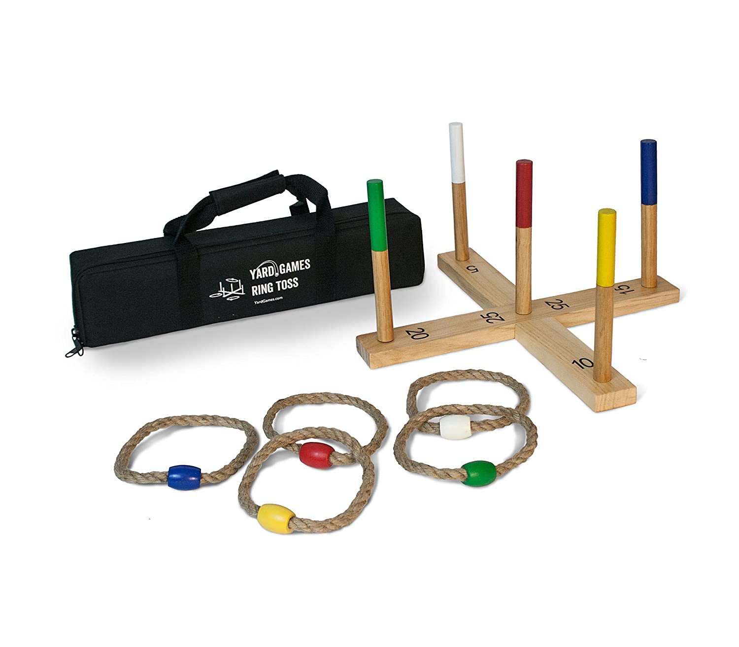 Yard Games Ring Toss Game Premium Set