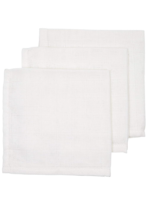 3 unidades, 30 x 30 cm, 100/% algod/ón Pa/ños para v/ómitos Meyco 457000 color blanco